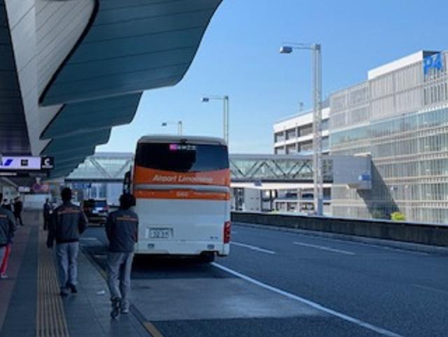 バスが揺れる
