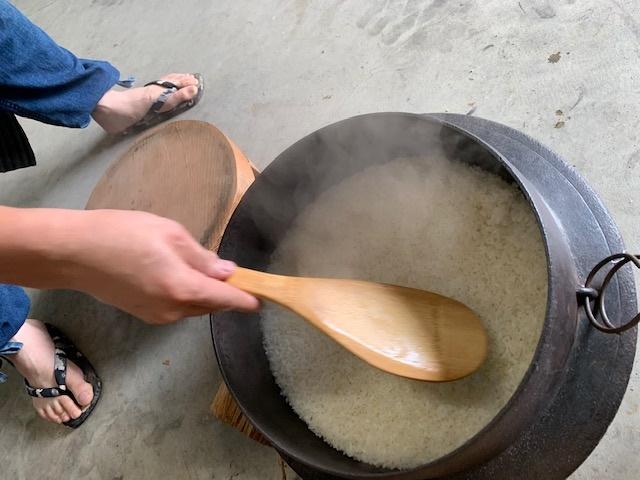 お米が美味しい